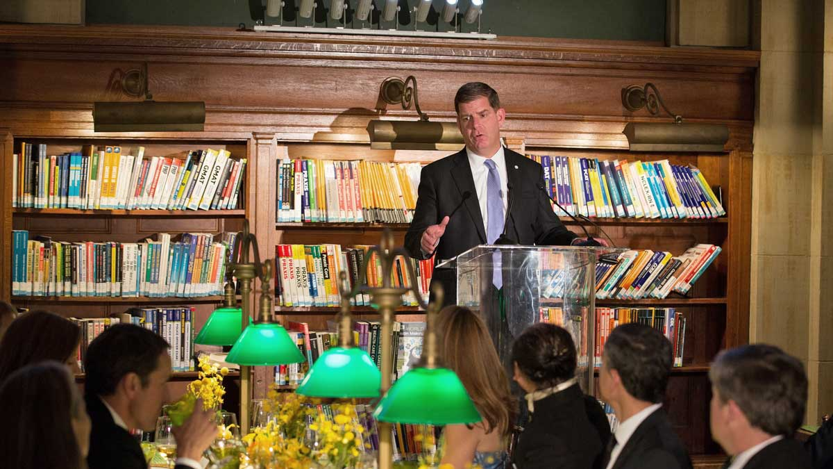 Boston Public Library celebrates renovated Central Library