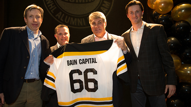 Team Bain Capital raises more than $135,000 for Boston Children's Hospital at the Corey C. Griffin NHL Alumni Pro-Am
