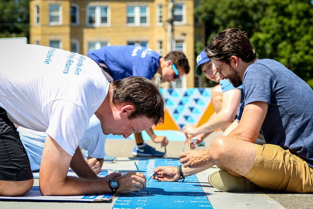 Bain Capital Private Equity Participates in a Service Day with City Year