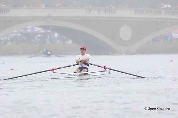Bain Capital Credit Employee Rows in the Head of the Charles Regatta to Support Community Rowing